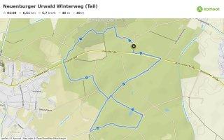 Neuenburger Urwald Winterweg